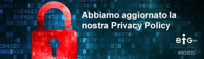 Abbiamo aggiornato la nostra Privacy Policy